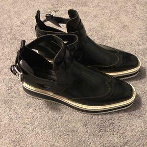 Zara funky boots